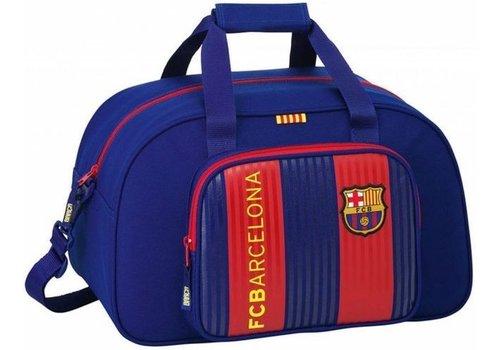 FC Barcelona Sporttas barcelona rood/blauw classic : 40x25x23 cm