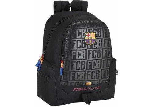 FC Barcelona Rugzak barcelona zwart: 43x32x17 cm (611725662)
