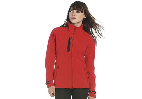B & C Collection Ladies Technical Softshell Jacket - JW938