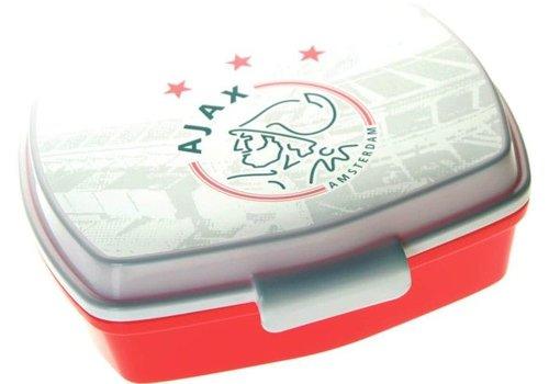 Ajax  Lunchbox ajax wit/rood logo