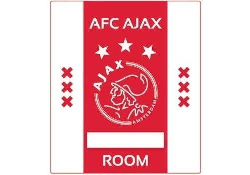 Ajax  Naambordje ajax rubber 10x12 cm