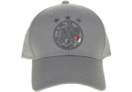 Ajax  Cap ajax senior grijs oude logo (635OUDLOGOGR)