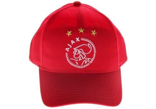 Ajax  Cap ajax junior rood (635LOGOREDJR)