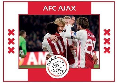 Ajax  Fotolijst ajax rubber: 17x12 cm