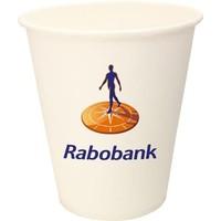 Kartonnen koffiebekers 220 ml digitaal geprint vanaf 1.000 stuks