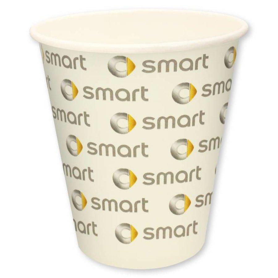 Kartonnen koffiebekers 180ml digitaal geprint vanaf 1.000 stuks