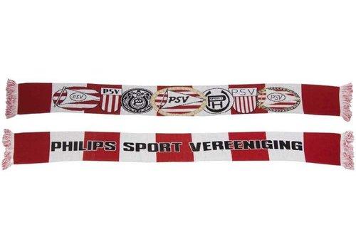 PSV Sjaal psv rood/wit logo`s (1003020034)