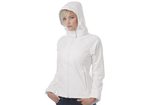 B & C Collection Hooded Softshell Lady