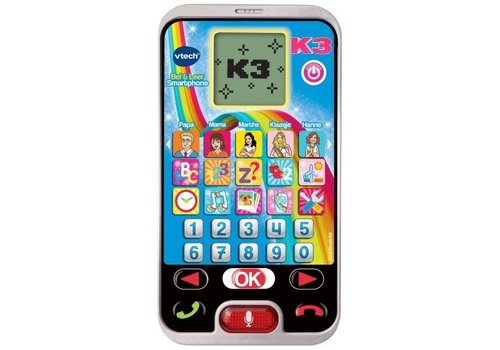 Bel & leer telefoon K3 Vtech: 3+ jr (80-139382)