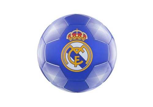 Bal real madrid leer middel wit/blauw (RM7BP2)