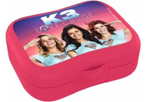Lunchbox K3 roze: Love Cruise (MEK3N0001200)