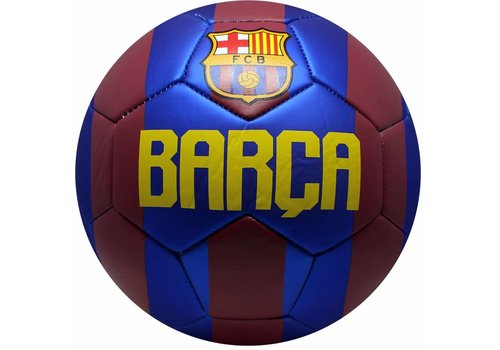 FC Barcelona Bal barcelona leer groot rood/blauw logo shiny (110220)
