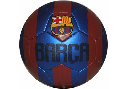 FC Barcelona Bal barcelona leer groot rood/blauw metallic (109393)