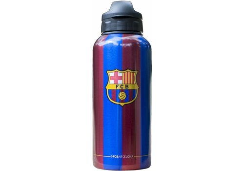 FC Barcelona Bidon barcelona blauw/rood aluminium stripes classic: 400 ml