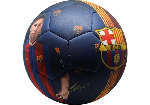 Messi Bal barcelona leer groot mat Messi (109759)