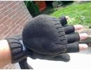 skogen gebreide handschoenen zonder vingers met Thinsulate
