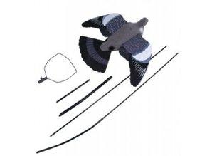 Jack Pyke glasvezel stok in 3 delen met gestroomde vol body lokduif