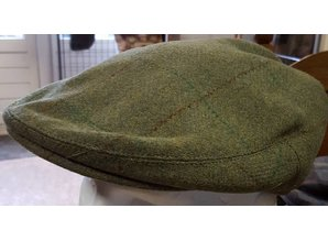 groene geruite pet tweed