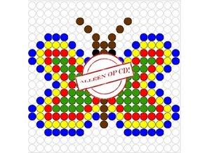 Kralenplank Vlinder 8