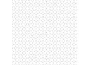 Leeg voorbeeld kralenplank vierkant