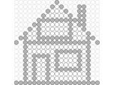 Kralenplank Huis 4