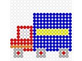 Kralenplank Vrachtwagen
