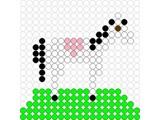 Kralenplank Paard