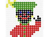 Kralenplank Zwarte Piet 1