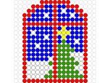 Kralenplank Kerstraam