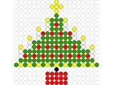 Kralenplank Kerstboom 3