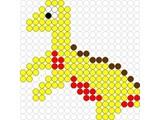 Kralenplank Dino 3