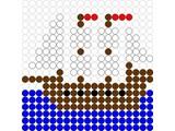Kralenplank Boot 2