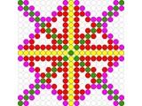 Kralenplank Schoonheidsfiguur 14