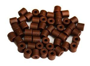 Cilinderkralen BRUIN 50 stuks