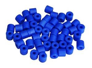 Cilinderkralen BLAUW 50 stuks