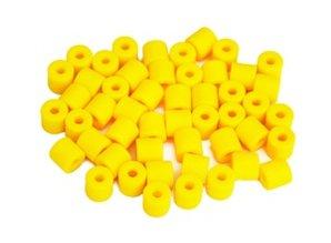 Cilinderkralen GEEL 50 stuks