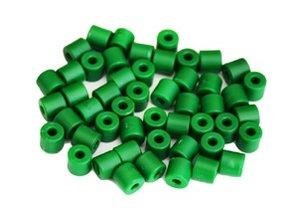 Cilinderkralen GROEN 50 stuks