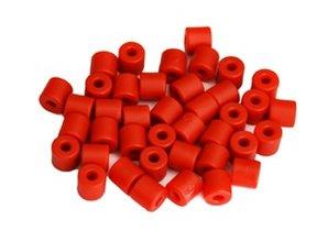 Cilinderkralen ROOD 50 stuks