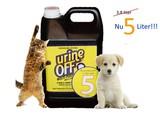 UrineOff UrineOff geur en vlekkenverwijderaar hond en kat 5 liter