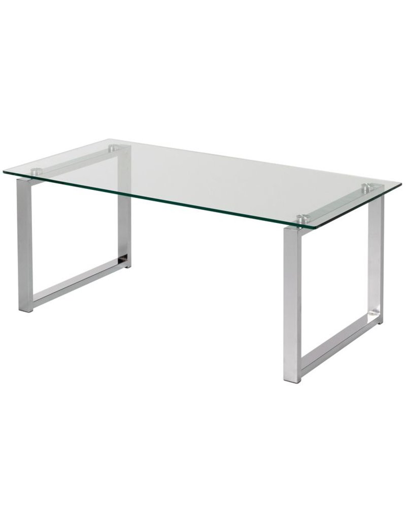 glazen salontafel 100 x 50 x 40 cm osby kantoormeubelen. Black Bedroom Furniture Sets. Home Design Ideas
