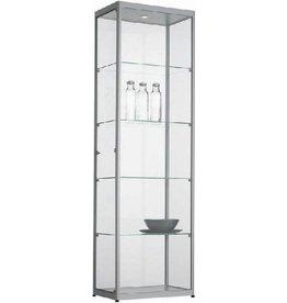 Glazen Vitrinekast H200 x B60 x D40 cm