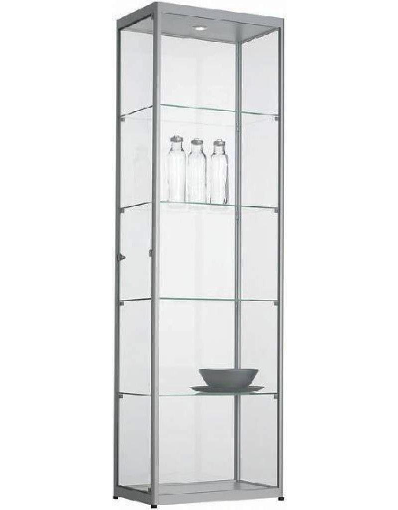Glazen Vitrinekast H200 X B60 X D40 Cm Osby Kantoormeubelen