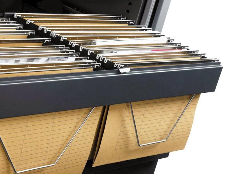 Roldeurkast Houtprint H105 x B120 x D43 cm