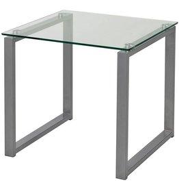 Glazen salontafel 50 x 50 x 50 cm