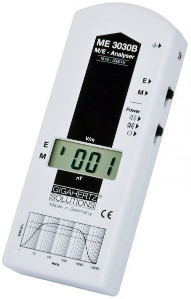 Gigahertz Solutions ME3030B Laag Frequentie Stralingsmeter