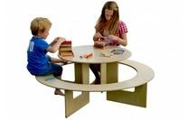 Speeltafel met bank