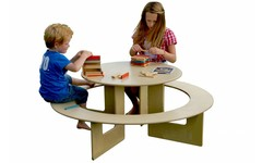 Kinderspeeltafel hout