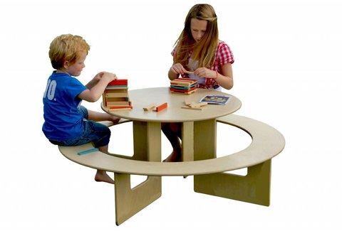 Kindertafel hout