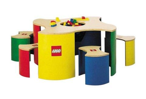 LEGO 4-zits Speeltafel (met lichte schade)