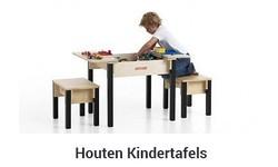 Houten Kindertafel